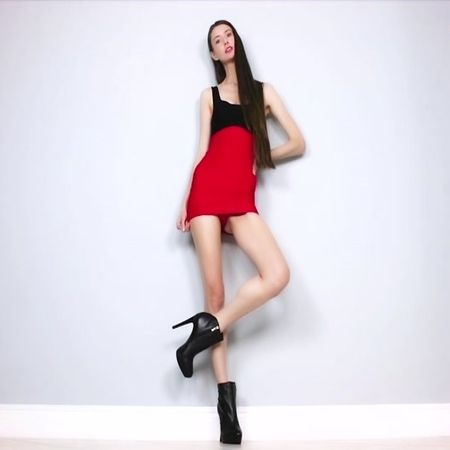 Empress Mika - Tall Goddess Leg, Calf Worship