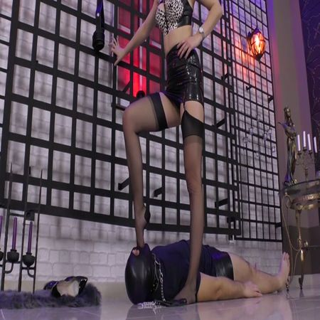 Under My Feet! Teased And Trampled