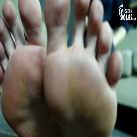 Czech Soles - Giantess Glass Prison For Her Tiny Foot Slave