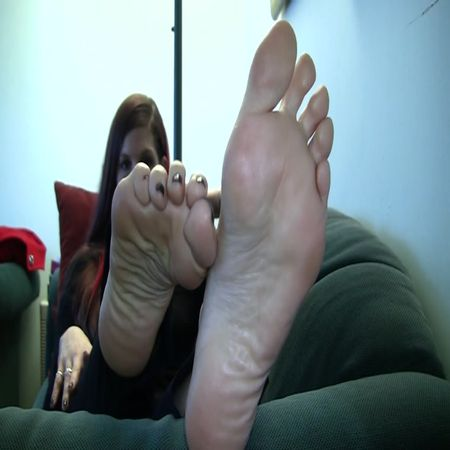 Jody's Size 10.5 Candid Stinky Soles Part 8