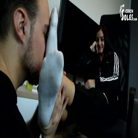 Czech Soles - Smelly Sock Domination And Victory Poses