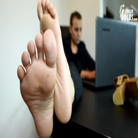 Czech Soles - Sexy Boss Enjoys Taking Advantage Of You