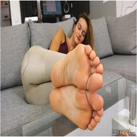 Czech Feet - 10/28/2018 Dominika H. - Bare feet & Shoes & Socks & Dirty