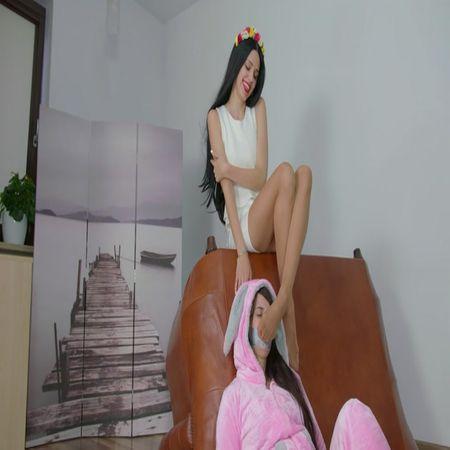 Polish Mistress - 2 Clips - Feet To Face