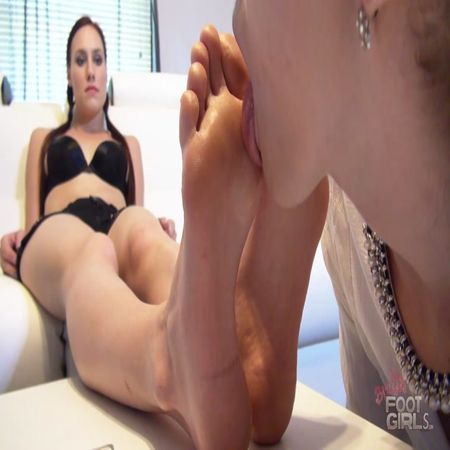 Bratty Foot Girls - Jolene hexx, Terra Mizu - Jolene's Cruel Foot Lesson pt 3
