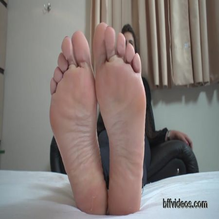 Bffvideos - Samira Summer First Foot Worship Pt.3