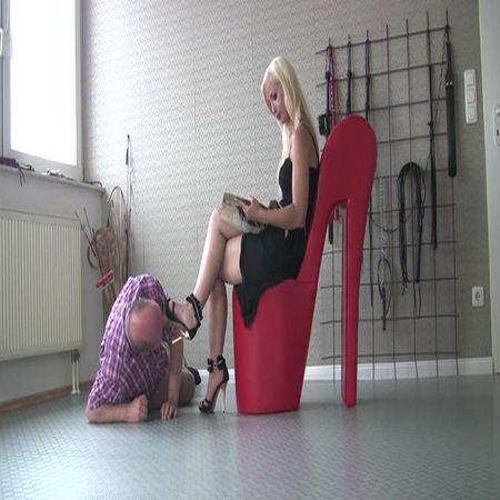FEMDOM-POV-CLIPS - Lick my dirty soles slave!