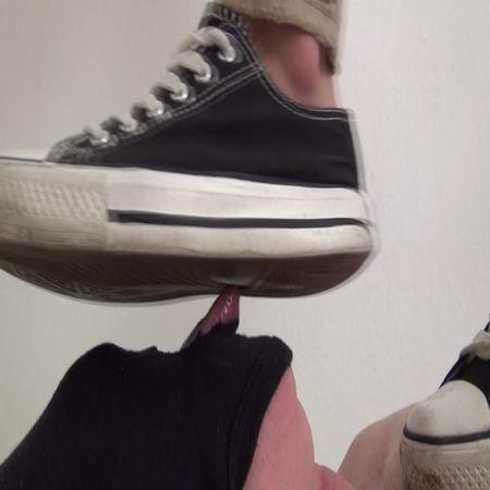 Foot Fetish Beauties - Trampling and shoe licking!