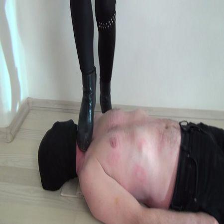 Foot Fetish Beauties - Lucy hard trampling in boots