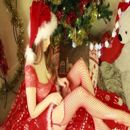 Oreob4by - christmas stocking tease