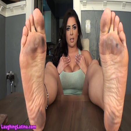 Goddess Jasmine Mendez – Filthy Soles Slave Training