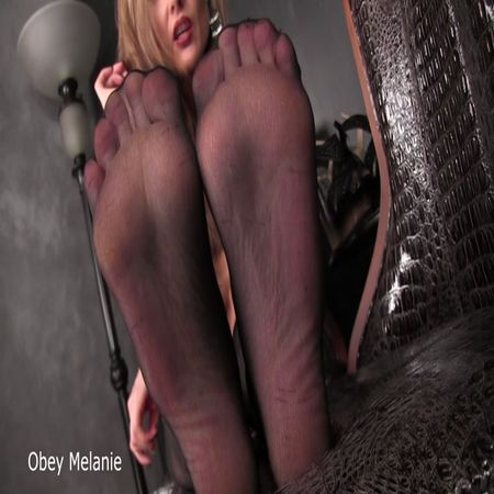 Obey Melanie - My feet own you