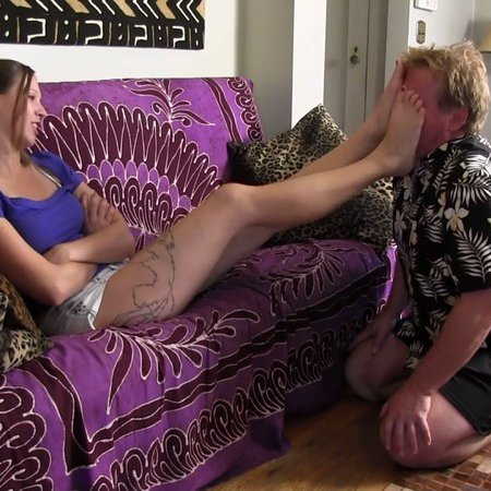 Club Stiletto - Princess Dakota - Princess Mashes Uncle's Face