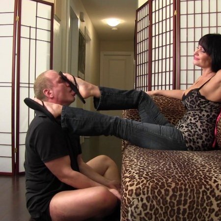 Club Stiletto FemDom - Mistress Kandy - Lick and Kick