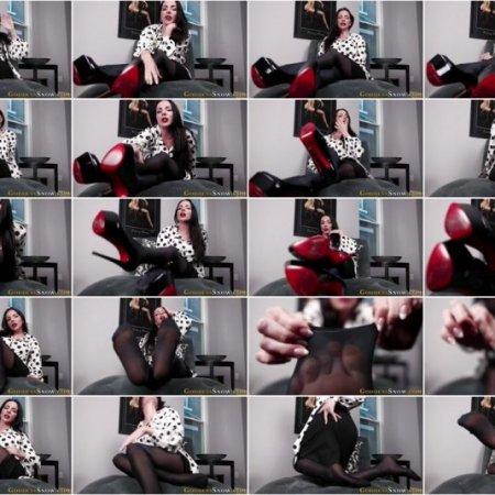 Goddess Alexandra Snow - Cuck for My Feet