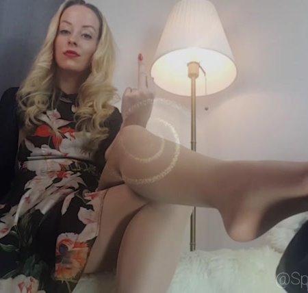 Spoilt Princess G - Your Cock Craves My Legs Slave