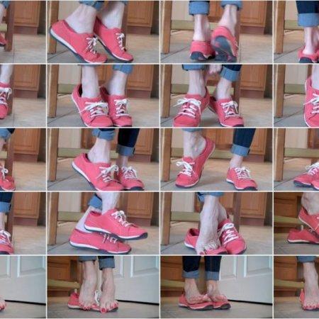 Mo Rina - sneaker heel pop