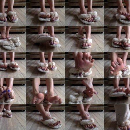 Misstiff Fluffy - Slipper Foot Fetish