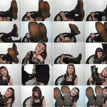 Felicia Fisher - worship my boots - shoejob joi cei