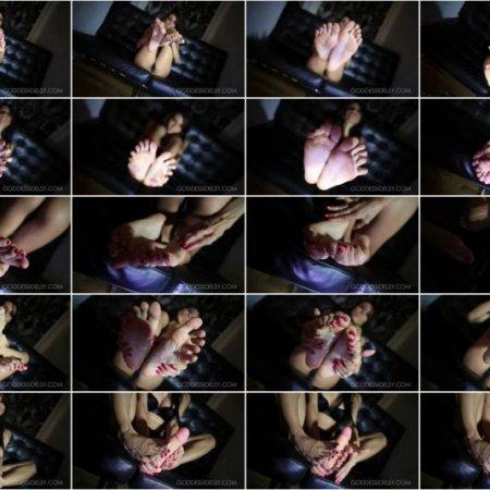 Idelsy Love - Sensual Foot Worship