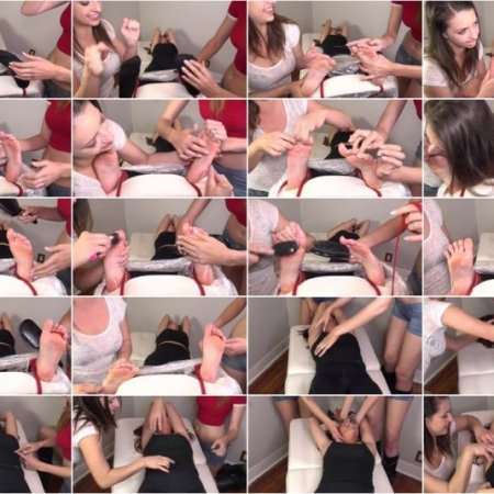 The Tickle Room – Rosie Double Teamed - Tickled by the Pros