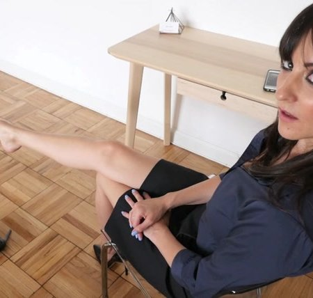 Stella Liberty - Dangling Secretary Blackmail
