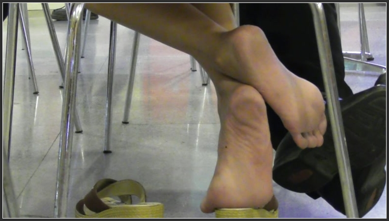 Sweaty Nylon Feet Smelling