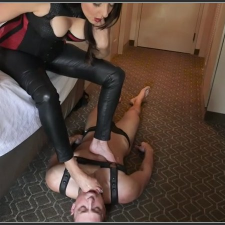 Mistress Stella Liberty - The Perfect Foot Slave With Alrik Angel