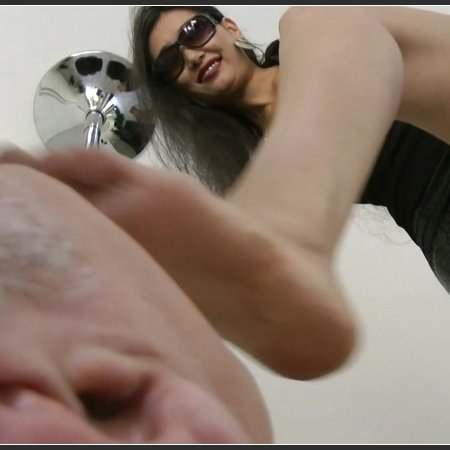 Goddess Leyla - Pov Foot Humiliation