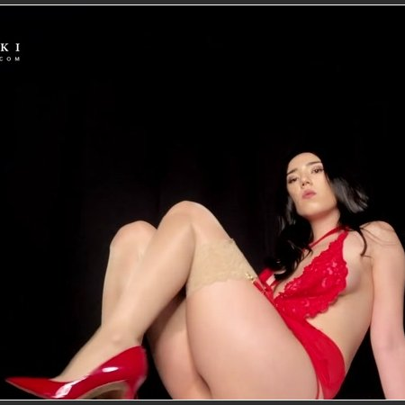 Princess Miki - Sensual Leg and Nylon Worship