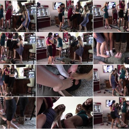Xanas Foot Fantasies - The Five Girl Trampling Challenge