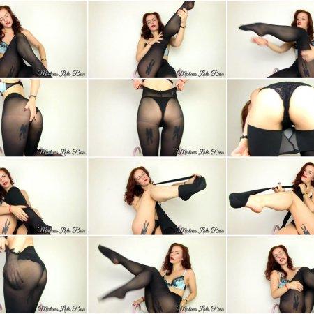 Mistress Lola Ruin - Pantyhose Pervert