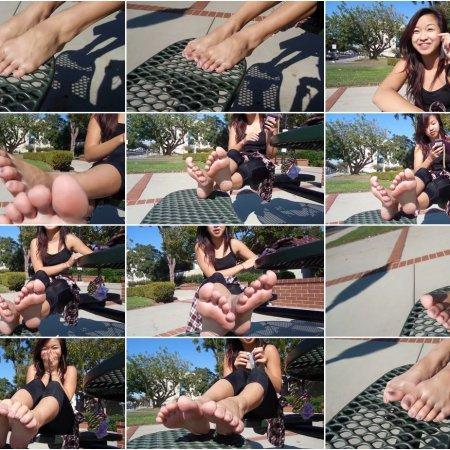 Asian Aesthetic Feet - Import Model Feet