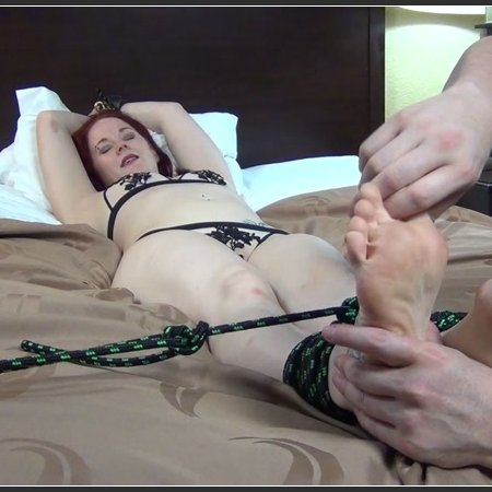 Inner Sanctum Tickling – UK Wrestler Araneae Tied and Tickled, Part 2 Ticklish Soles