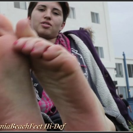 California Beach Feet - Set 20101216