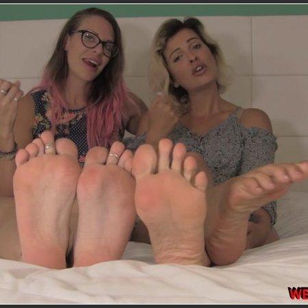 Double Foot Fantasy (Weak for Feet)