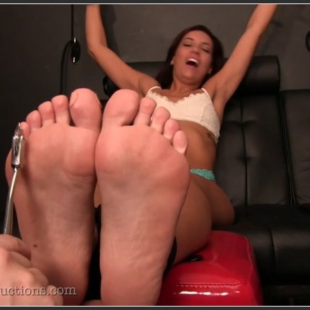 Ginary's Tickle Adventures – Victoria Banxxx Barefoot Tickled