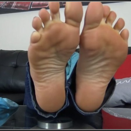 SADIE HOLMES SIZE 10 SWEATY and STINKY FEET (The Foot Fantasy)