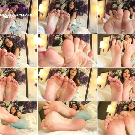 Stella Liberty - Jerk to Stella's Perfect Soles 720p (Bratty Foot Girls)