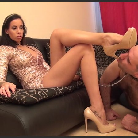 REA - Submission Therapy - Worship My high Heels, Shoebitch! - Shoe Worship And Domination (Goddess Rea)
