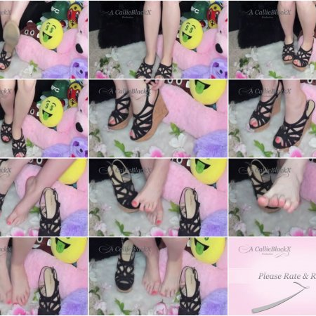 Love My Feet, Worship My Feet (Callie Black X)