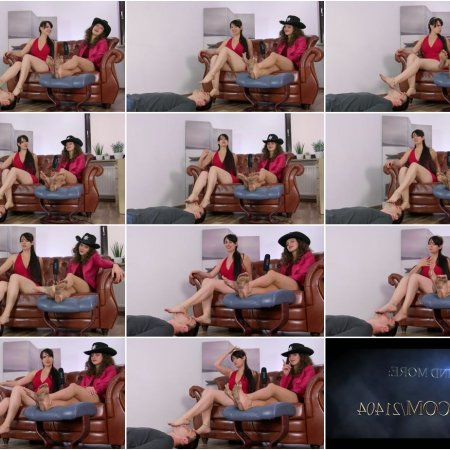 Karolina And Weronika In Dirty Feet Licking Show - Part 2 (Dominant Femine)
