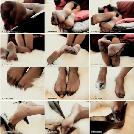 Fluffy, soft and hot (Feet Week)