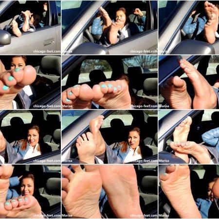 Winter Car Feet