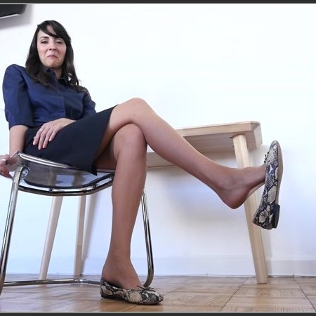 Stella Liberty - Your Teacher's Nylons & Flats are Irresistible
