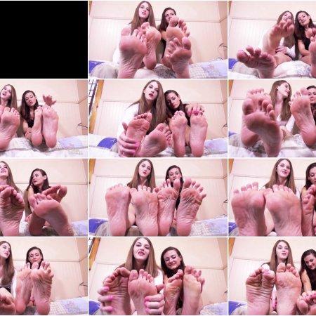 Terra Mizu, Ren Smoulder - humiliate you at their soles (Bratty Foot Girls)
