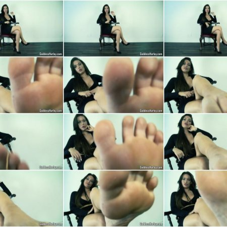 Foot In Mouth - AMAZON Goddess Harley
