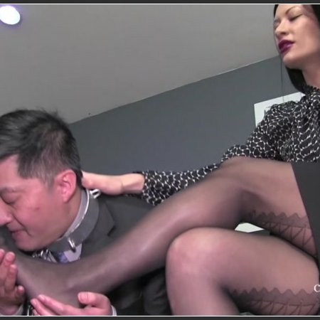 Office Stocking Worship (Miss Jasmine)