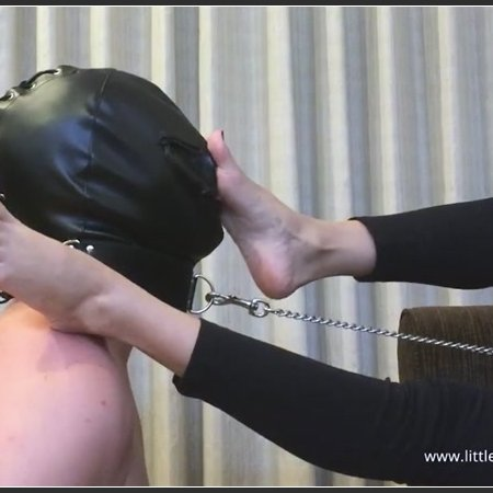 SLAVE WORSHIPS MY FEET AND GETS HIS FACE SLAPPED BY MY FEET