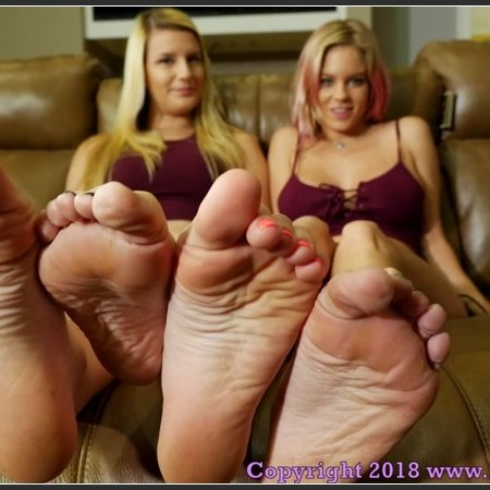Perfect Soles Humiliation with Cum Countdown (Anabelle, Chloe POV)